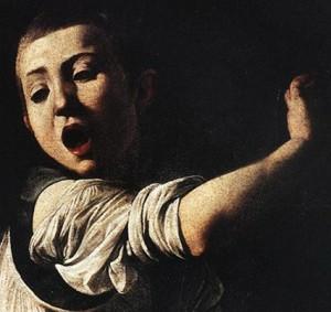 Caravaggio Detail Martyrdom of St. Matthew