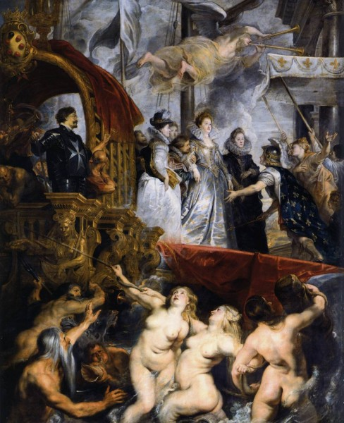 "Peter Paul Rubens ""The Landing of Marie de Médicis at Marseilles"""