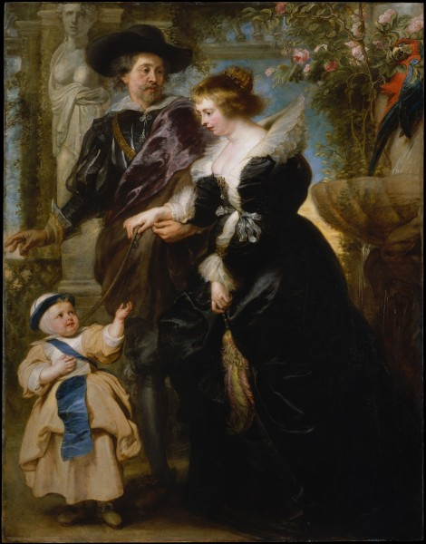 "Peter Paul Rubens ""Rubens, Helena and Frans"" 1635 Metropolitan Museum of Art"